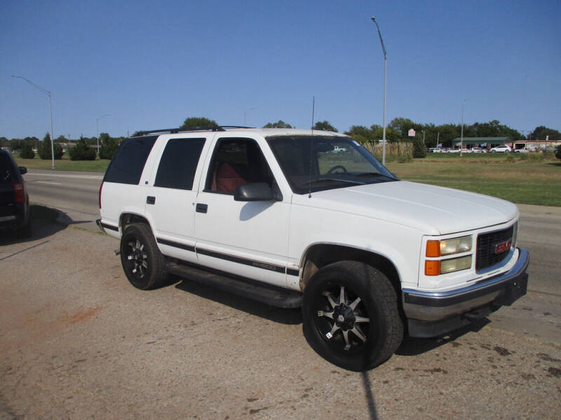 used 1998 gmc yukon for sale carsforsale com used 1998 gmc yukon for sale