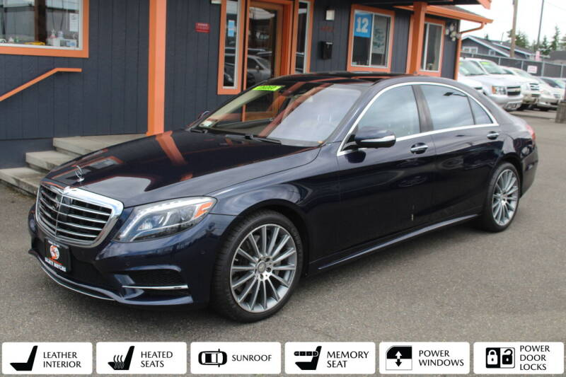 2015 Mercedes-Benz S-Class for sale at Sabeti Motors in Tacoma WA