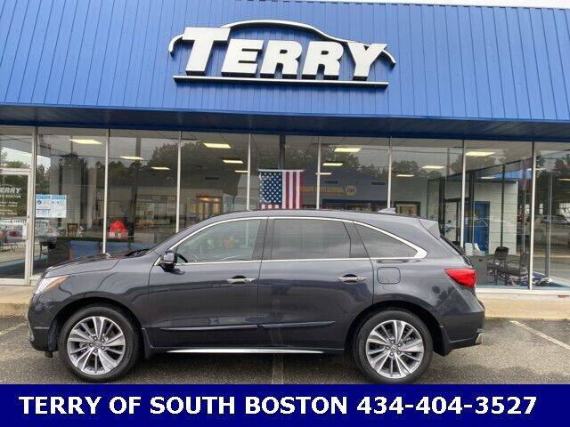2019 Acura MDX for sale at Terry of South Boston in South Boston VA