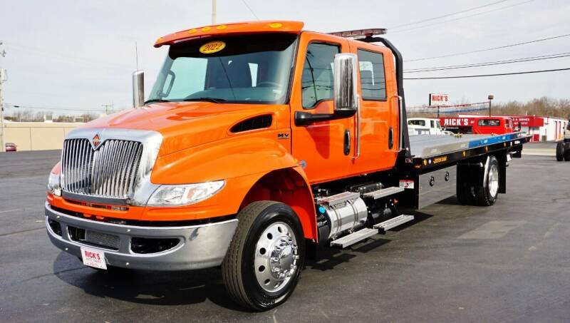 2022 International MV Crew Cab for sale at Rick's Truck and Equipment in Kenton OH