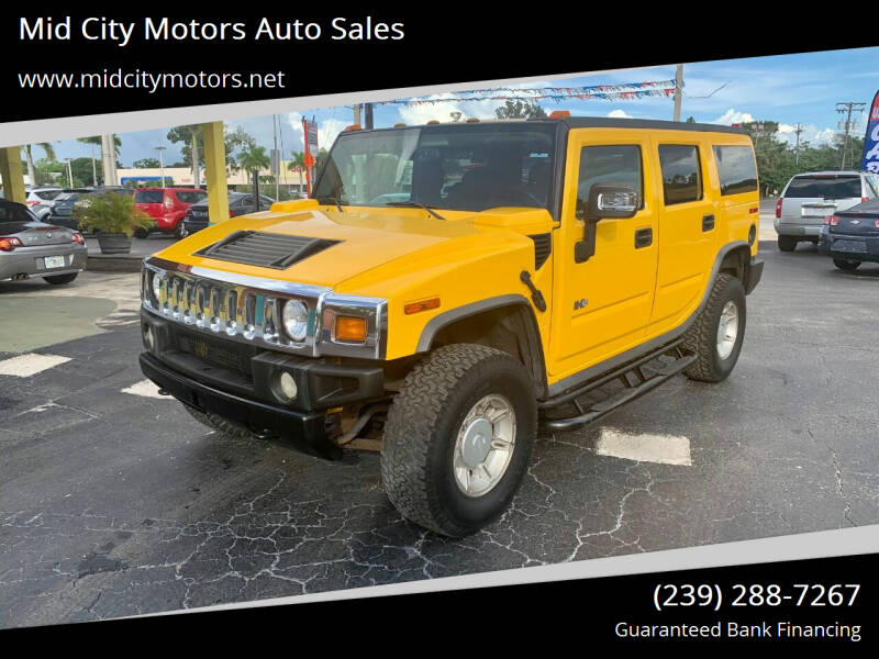2005 HUMMER H2 for sale at Mid City Motors Auto Sales in Fort Myers FL