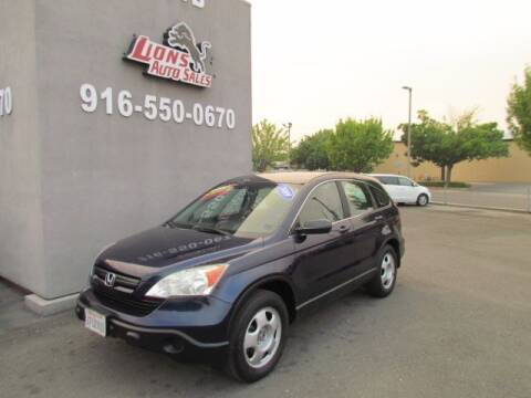 2009 Honda CR-V for sale at LIONS AUTO SALES in Sacramento CA