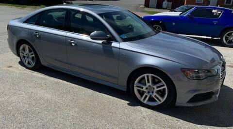2017 Audi A6 for sale at Past & Present MotorCar in Waterbury Center VT