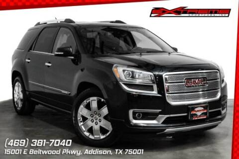 2014 GMC Acadia for sale at EXTREME SPORTCARS INC in Carrollton TX