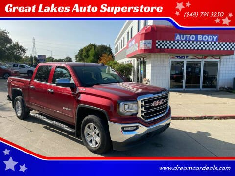 2018 GMC Sierra 1500 for sale at Great Lakes Auto Superstore 2 in Waterford MI
