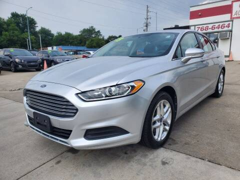2013 Ford Fusion for sale at Quallys Auto Sales in Olathe KS