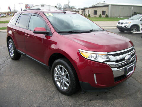 2014 Ford Edge for sale at USED CAR FACTORY in Janesville WI