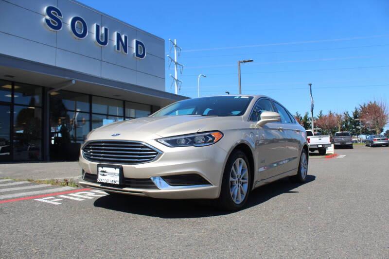 2018 Ford Fusion Energi for sale in Renton, WA