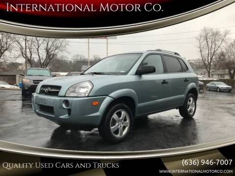 2007 Hyundai Tucson for sale at International Motor Co. in St. Charles MO