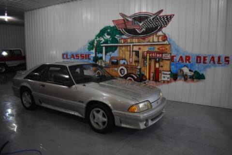 1990 Ford Mustang for sale at Classic Car Deals in Cadillac MI