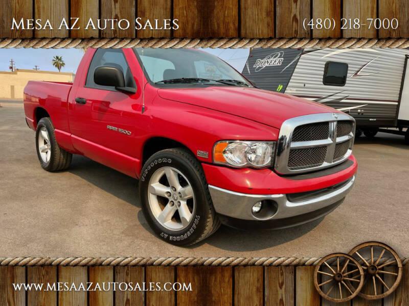2005 Dodge Ram Pickup 1500 for sale at Mesa AZ Auto Sales in Apache Junction AZ