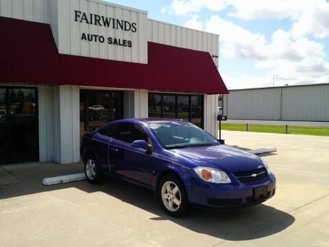 2007 Chevrolet Cobalt for sale at Fairwinds Auto Sales in Dewitt AR