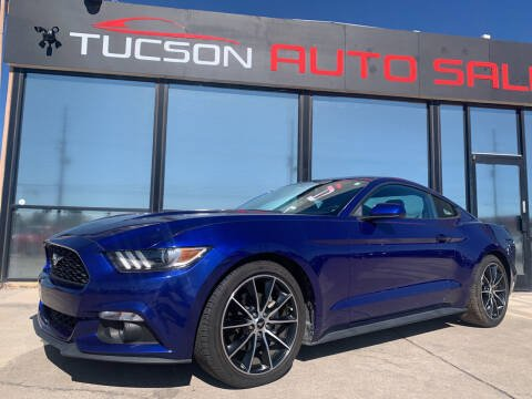 2016 Ford Mustang for sale at Tucson Auto Sales in Tucson AZ
