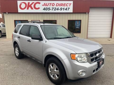 2012 Ford Escape for sale at OKC Auto Direct in Oklahoma City OK