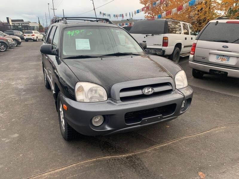 2005 Hyundai Santa Fe for sale at ALASKA PROFESSIONAL AUTO in Anchorage AK