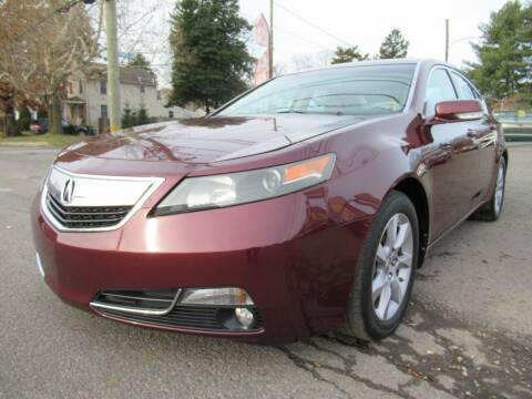2014 Acura TL for sale at PRESTIGE IMPORT AUTO SALES in Morrisville PA