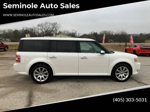 2009 Ford Flex for sale at Seminole Auto Sales in Seminole OK