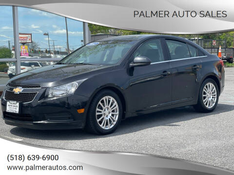 2012 Chevrolet Cruze for sale at Palmer Auto Sales in Menands NY
