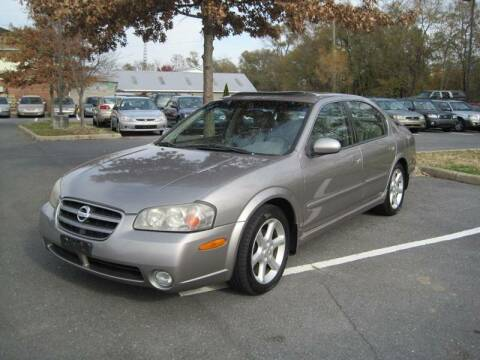 2002 Nissan Maxima for sale at Auto Bahn Motors in Winchester VA