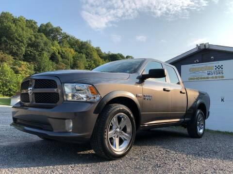 2018 RAM Ram Pickup 1500 for sale at Creekside PreOwned Motors LLC in Morgantown WV