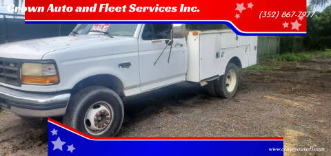 1995 Ford F-450 for sale at Crown Auto and Fleet Services Inc. in Ocala FL