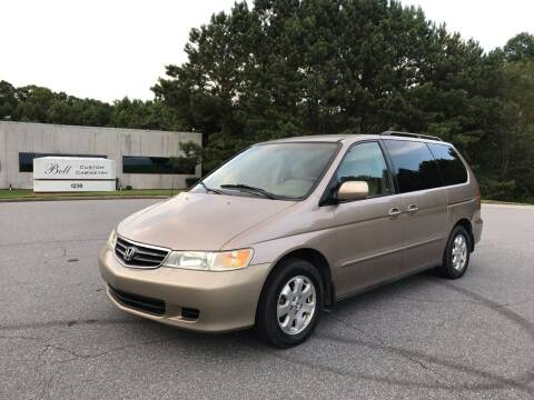 2003 Honda Odyssey for sale at Auto Deal Line in Alpharetta GA