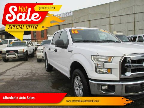 2015 Ford F-150 for sale at Affordable Auto Sales in Olathe KS