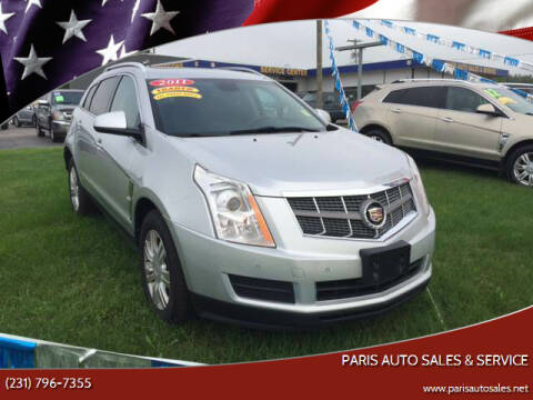 2011 Cadillac SRX for sale at Paris Auto Sales & Service in Big Rapids MI