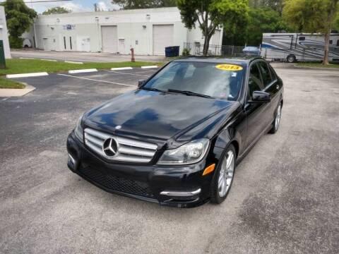 2013 Mercedes-Benz C-Class for sale at Best Price Car Dealer in Hallandale Beach FL