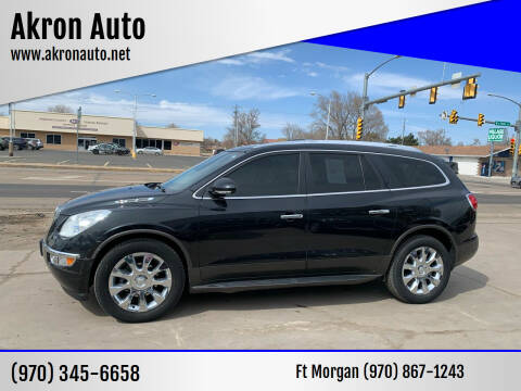 2011 Buick Enclave for sale at Akron Auto - Fort Morgan in Fort Morgan CO