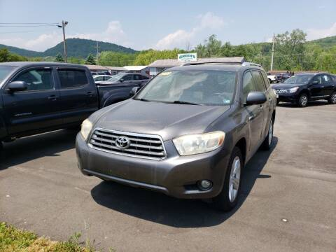 2009 Toyota Highlander for sale at Greens Auto Mart Inc. in Wysox PA