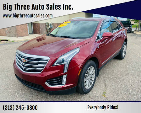 2018 Cadillac XT5 for sale at Big Three Auto Sales Inc. in Detroit MI