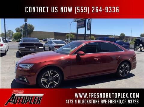 2018 Audi A4 for sale at Carros Usados Fresno in Clovis CA