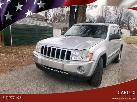 2007 Jeep Grand Cherokee for sale at CARLUX in Fortville IN