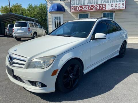 2010 Mercedes-Benz C-Class for sale at Silver Auto Partners in San Antonio TX