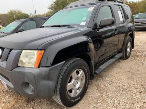 2008 Nissan Xterra for sale at BULLSEYE MOTORS INC in New Braunfels TX
