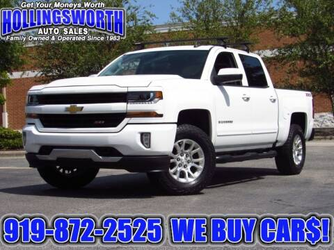 2018 Chevrolet Silverado 1500 for sale at Hollingsworth Auto Sales in Raleigh NC
