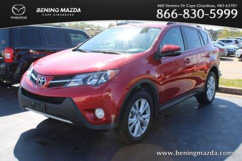 2015 Toyota RAV4 for sale at Bening Mazda in Cape Girardeau MO