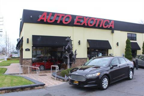 2015 Ford Fusion for sale at Auto Exotica in Red Bank NJ