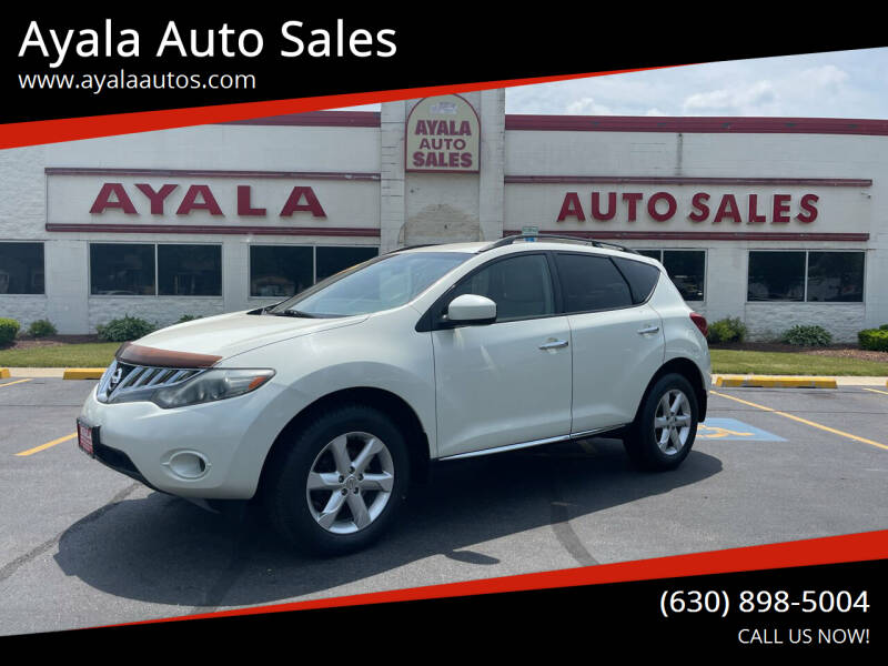 2009 Nissan Murano for sale at Ayala Auto Sales in Aurora IL