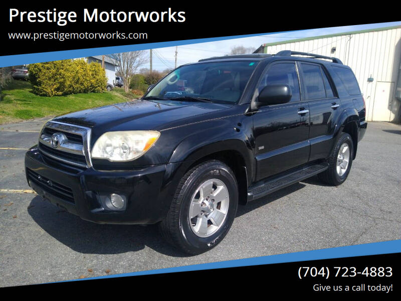2008 Toyota 4Runner for sale at Prestige Motorworks in Concord NC