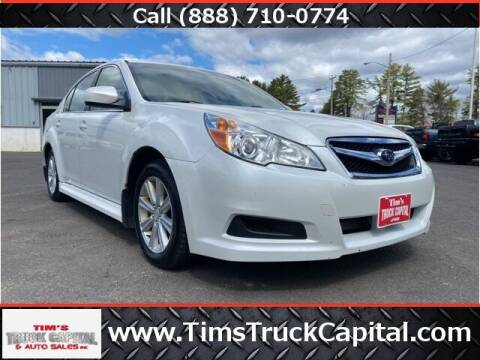 2010 Subaru Legacy for sale at TTC AUTO OUTLET/TIM'S TRUCK CAPITAL & AUTO SALES INC ANNEX in Epsom NH