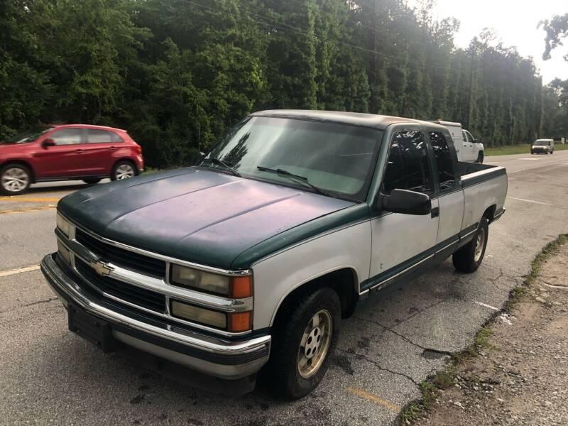 1995 Chevrolet C/K 1500 Series for sale at Mountain Motors in Newnan GA