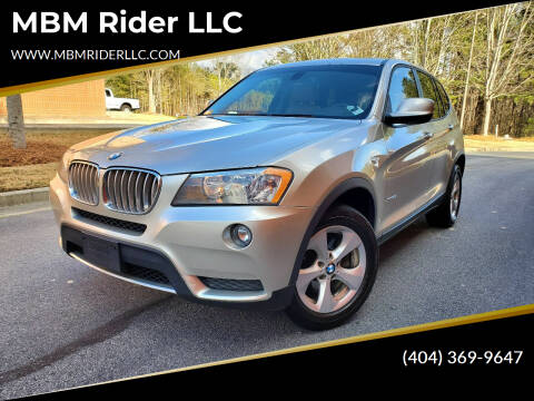 2011 BMW X3 for sale at MBM Rider LLC in Alpharetta GA