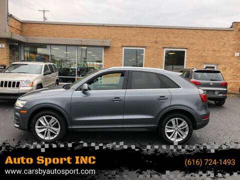 2016 Audi Q3 for sale at Auto Sport INC in Grand Rapids MI