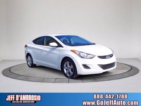 2013 Hyundai Elantra for sale at Jeff D'Ambrosio Auto Group in Downingtown PA