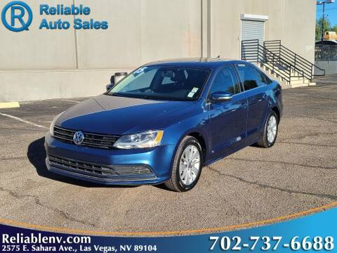 2015 Volkswagen Jetta for sale at Reliable Auto Sales in Las Vegas NV