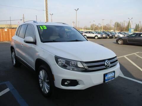 2013 Volkswagen Tiguan for sale at Choice Auto & Truck in Sacramento CA