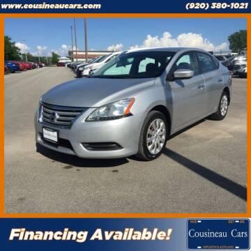2014 Nissan Sentra for sale at CousineauCars.com in Appleton WI