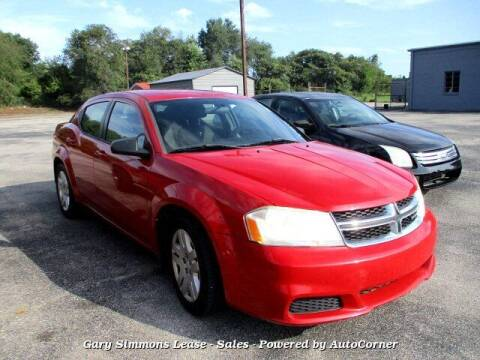 2011 Dodge Avenger for sale at Gary Simmons Lease - Sales in Mckenzie TN